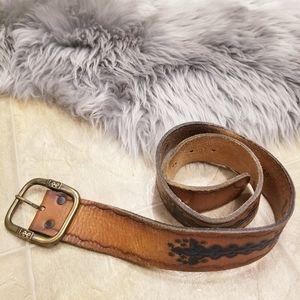 Vintage Lee Leather Belt